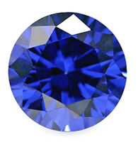 Sapphire Blue Cubic Zirconia   1 - 8 mm Round  Loose Stones  Very Best Quality
