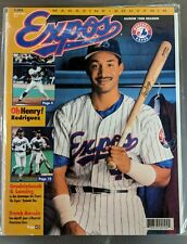 MONTREAL EXPOS BASEBALL MAGAZINE Vol.27 No.4  HENRY RODRIGUEZ COVER