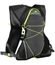 Ronhill Nano 3 L Vest Pack Backpack Rucksack Charcoal Black / Fluo Yellow LP £45