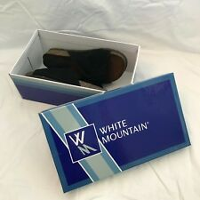 White Mountain Sandals Natural Leather YOU PICK COLOR NEW WITH BOX WOMEN SIZE 7