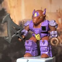 1986 Hasbro Takara Battle Beasts Series 1 Bloodthirsty Bison With Weapon