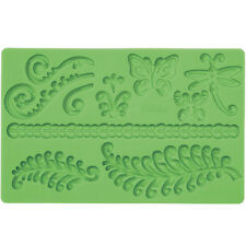 WILTON Fern FONDANT AND GUM PASTE MOLD stampo Sugarcraft Torta Decorazione