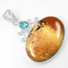 Topaz Sterling Silver Natural Fine Jewellery