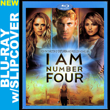 I Am Number Four (Blu-ray, w/Slipcover) Timothy Olyphant, Teresa Palmer