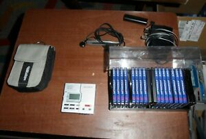 SONY portable minidisc player recorder WALKMAN MZ-R90 + 15 sealed minidiscs