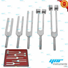 YNR Medical Tuning Tunning Fork Chakra 5pcs Set Made Of Aluminium CE MARK
