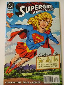 ACTION COMICS #706 - SUPERGIRL APPEARANCE ! - 1995 - DC COMICS