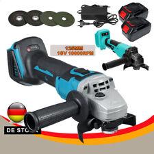 Akku Winkelschleifer 18V 125mm Trennschleifer Schleifmaschine Flex v Für Makita