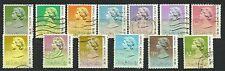 Hong Kong Stamps:  SC 490-500  QE II Definitive Set  Used