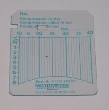 fiche pour compressiometre diesel