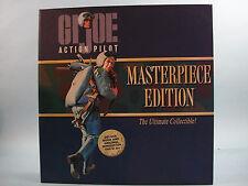 G I Joe Action Pilot Volume Iv Masterpiece Edition Brown Figure & Hist Book