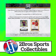 20-21 Museum Collection UEFA CL 12 Hobby Box Case Break 4/21 3pm CST - Barcelona