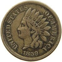 UNITED STATES CENT 1859 INDIAN HEAD #t115 063