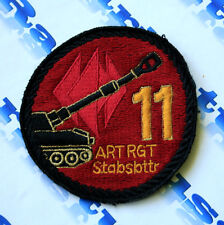 PATCH ARMY FEDERAL REPUBLIC OF GERMANY ARTILLERY REGIMENT