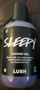 Lush - Sleepy Shower Gel - 3.3oz Lavender Relaxing Body and Mind