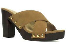 Thalia Sodi Women's Ivanna Crisscross Platform Sandals Camel Size 6 M