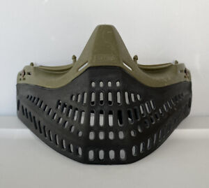 2003 JT USA Proflex OG Olive Green Paintball Mask Bottom With Chinstrap Spectra