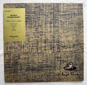 LP / HUGO WOLF LIEDER / DIETRICH FISCHER-DIESKAU / GERALD MOORE / ANGEL RECORDS