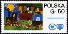 Poland - 1979 - International Year of the Child - Train & Iyc Emblem - #2314