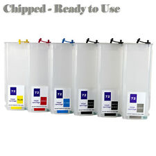 HP 72XL Quality Refillable Ink Cartridge Kit For HP Printers T1200 T610 T620 T77
