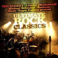 CD Ultimate Rock Classics von Various Artists mit Lemmy,Santana,Michael Schenker
