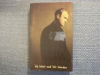 Phil Collins:  We wait and we wonder       Cassingle   NEW