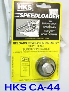 HKS CA-44 Speed Loader for CHARTER ARMS 44 Bulldog 5-Shot TAURUS Mod 450 S&W 696