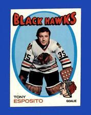 New listing 1971-72 Topps Set Break #110 Tony Esposito EX-EXMINT *GMCARDS*