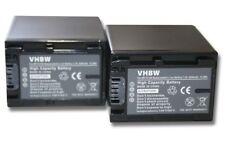 2x BATERIA 2200mAh PARA SONY NP-FV100 HDR-CX220ER