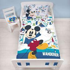 Mickey Mouse Wanderer Junior Bébé Duvet Couverture Ensemble Literie Enfants
