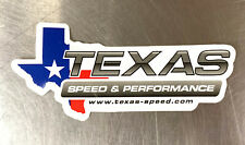 Texas Speed & Performance Racing Contingency Decal Sticker