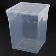 Breathable Reptile Box Snake Turtle Breeding Cage Feeding Hatching Container