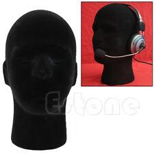 Male Styrofoam Foam Mannequin Manikin Wigs Glasses Cap Head Model Display Stand