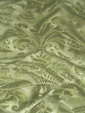 Zoffany Wallpaper DACIER - 8  Rolls - Olive Green - Persia Collection ZPEW04004