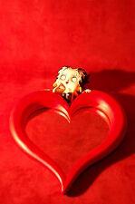 Specchio a Cuore Betty Boop - Heart Mirror - Figure