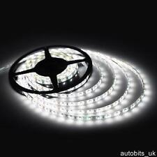 12v 5M WHITE LED SMD STRIP ROPE RIBBON BRIGHT LIGHT WATERPROOF LIGHTS HOME BAR