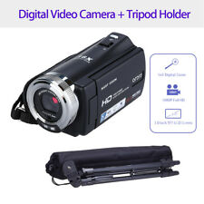 "3.0"" 1080P FHD Digital Camera Camcorder DVR Video CMOS Sensor 12M+Tripod Holder"