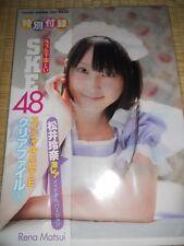 AKB48 SKE48 Rena Matsui ShioriKaneko Minami Hara ClearFile  JAPAN LIMITED!