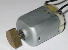 Small Vibrator Motor - 12 VDC - 3000 RPM - Personal Massager / Vibrator DC Motor
