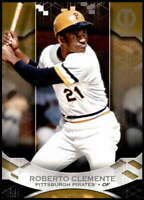 Roberto Clemente 2019 Topps Tribute 5x7 Gold #31 /10 Pirates