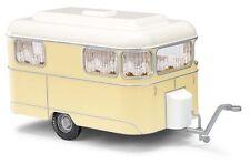 Busch 51700 HO (1/87e): Nagetusch woonwagen beige/wit