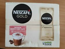 Nescafe Cappuccino Gold Unsweetened Taste 50 One Cup