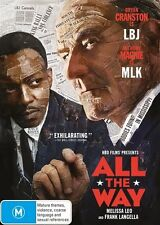 All The Way (DVD, 2016) NEW