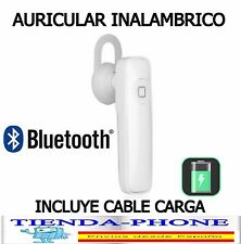 Mini auricular bluetooth manos libres pinganillo altavoz con micro universal