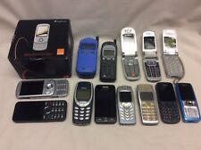 JOB LOT 13 MOBILE PHONES SAMSUNG NOKIA ETC