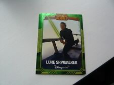 Star Wars Disney Store Exclusive Limited Edition Collectors Card Luke SkyWalker