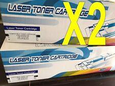 BLACK Toner Cartridge X 2 for Canon CRG 729 i-SENSYS LBP-7010C LBP-7018C