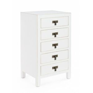 Chest of Drawers 5C Bejing White Or Black