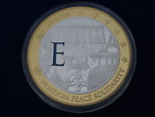 MEDAILLE / Medal - GEANTS EURO - FREEDOM PEACE SOLIDARITY - FDC / UNC