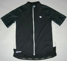 Pearl Izumi Select Full Zip Cycling Jersey Black White Semi-Fitted Men Large VG